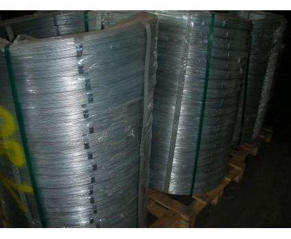 FILO ZINCO ALLUMINIO ALL 9-10 % Filo d'acciaio ad elevato contenuto di carbonio, con rivestimento costituito da una lega di zinco (95%) ed alluminio (5%)