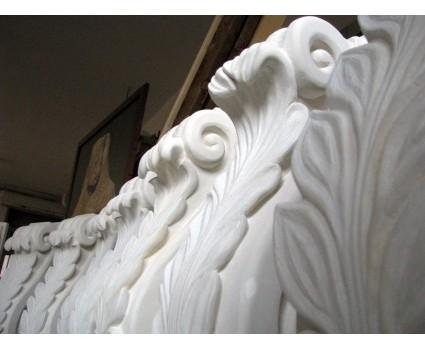 mensole in pietra bianca della maiella