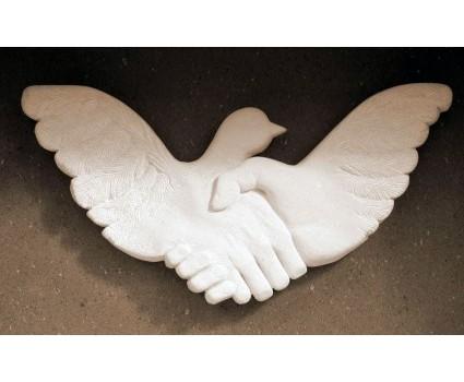 elemento decorativo simbolico per cappella cimiteriale